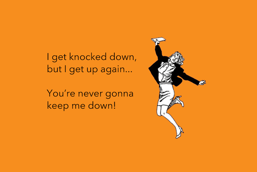 Article image: I get knocked down