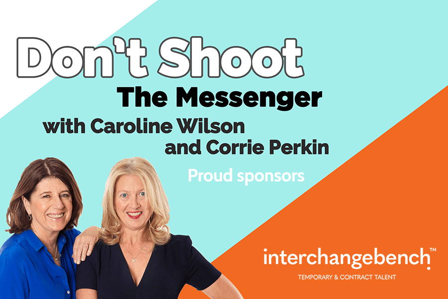 Article image: Don't shoot the messenger podcast