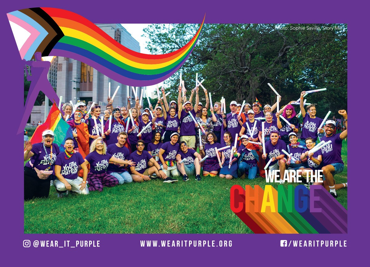 Article image: Wear it Purple - We are the change